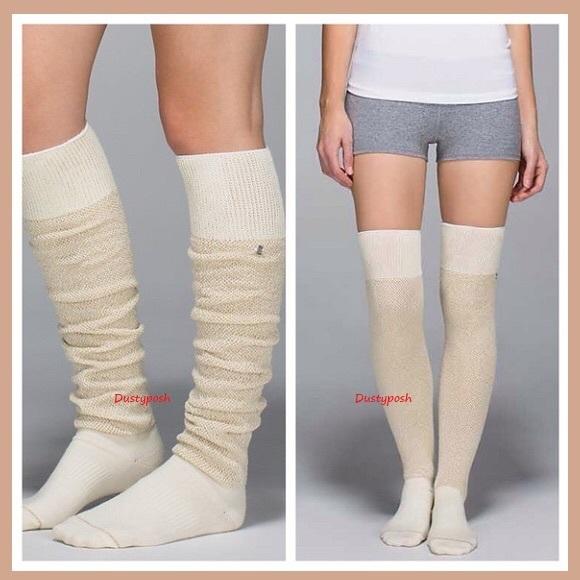 ffe70e64f5b Lululemon After Asana Over The Knee Socks Thigh Hi